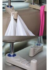 1 PCS Portable Car Auto Seat Hanger Purse Bag Organizer Holder Hook Headrest