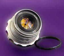 Industar-26m 50f/ 2.8 lens M39 for Zorki,Leica, Fed S/N 1761327 +ring M39/M42