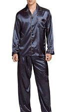 pigiama uomo In Seta N KATTER  Lèggerà lungo Modello Brioni  Taglia M L XL XXL