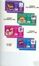 McDonald's Coca-Cola Frank & Son #3 phonecards set of 4