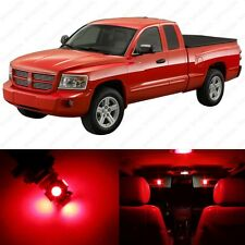 15 x Red LED Interior Light Package For 1997 - 2010 Dodge Dakota + PRY TOOL