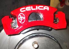 TOYOTA Celica Brake Caliper Calliper Decals Stickers - ALL OPTIONS