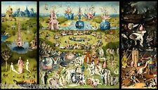 GARDEN OF EARTHLY DELIGHTS, 1503 Hieronymus Bosch CANVAS ART PRINT 17x30 in.