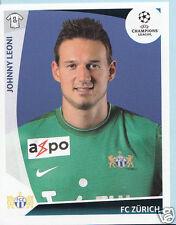 Football autocollant-panini uefa champions league 2009-10 - nº 193-fc zurich