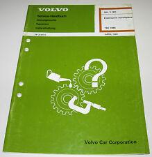 Werkstatthandbuch Elektrik Volvo Elektrische Schaltpläne 780 Stand April 1989
