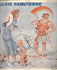 LA VIE PARISIENNE 1938 N° 12 LEONNEC - ROCHE