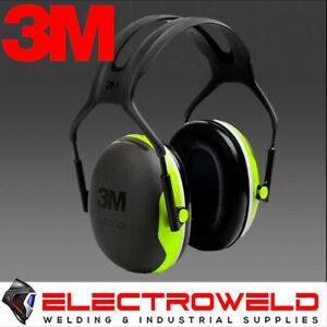 3M PELTOR HEADBAND EARMUFFS EAR NOISE HEARING PROTECTION X4A CLASS 5 SLC80