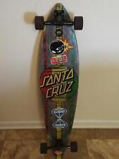 "Santa Cruz Longboard Skateboard, 43-1/2"" x 9-3/4"" with Built-In Bottle Opener"