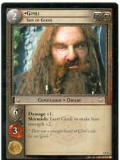 Lord Of The Rings CCG FotR Card 1.R13 Gimli Son Of Gloin