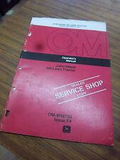 John Deere 100 Lawn Tractor Operators Manual~Maintenance~Operat ion~Lubrication