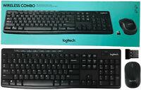 Logitech MK270 WIRELESS COMBO K270 Keyboard Laser Mouse 920-008971 USB Receiver
