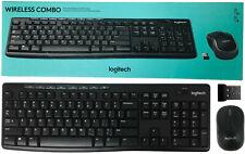 Logitech K270 WIRELESS COMBO Keyboard & M185 PC Mouse 920-008971 USB Receiver