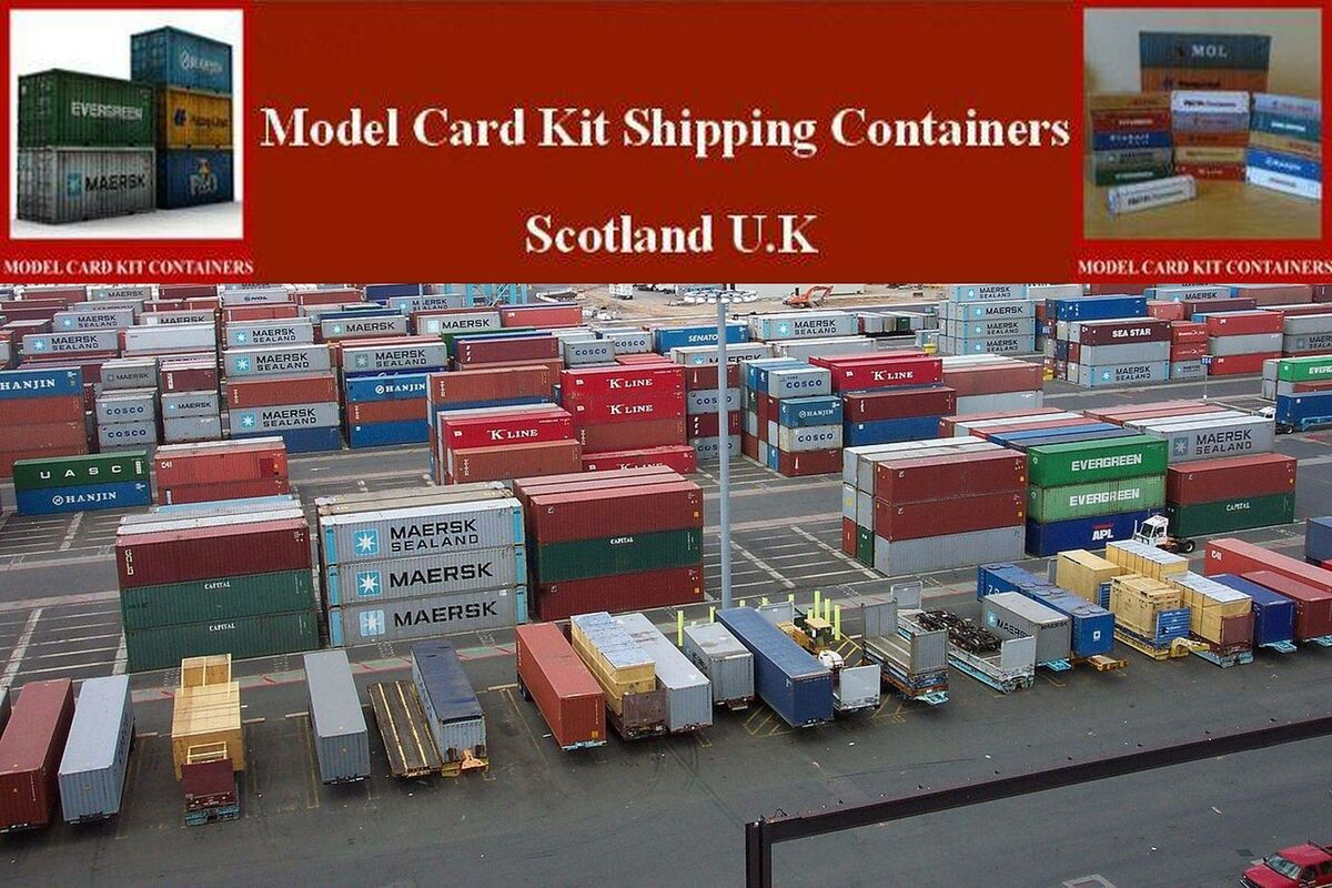 Model Shipping Containers