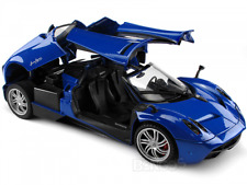 PAGANI  HUAYRA  SUPER CAR    C12  V12    BLUE  NEW IN BOX .