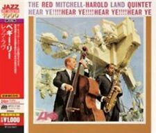 Hear Ye 0075678195327 by Red Mitchell & Harold Land Quintet CD