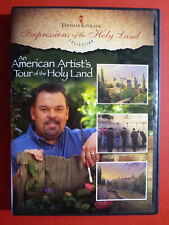 Thomas Kinkade Impressions of the Holy Land: An American Artist's Tour DVD RARE