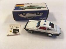 TOMICA F16 1/61 SCALE PORSCHE 911S POLICE CAR