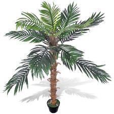 "55"" Artificial Plant Coconut Palm Fake Tree Potted Pool Patio Arrangement Decor"
