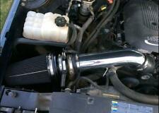 "Fit 99-07 Chevy GMC V8 4.8L/5.3L/6.0L 4"" Cold Air Intake Kit+Heat Shield Black"