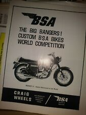 Bsa Ad Rocket 3 Motorcycle