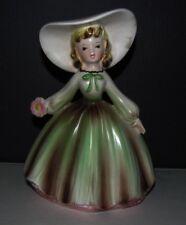 Vintage INARCO Planter, Girl in Springtime Dress, E-1543