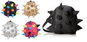 MADPAX Spike Mighty Bite Kids Bag Spiky 3D Metallic Rucksack Crossbody New
