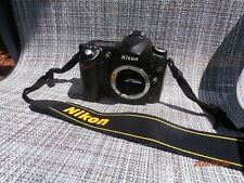 Nikon D50 camera body (no lens) with strap, lithium battery and 1.06Bmemory card