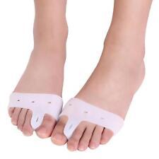 Silicone Gel Toe Spacer Separator Straightener Spreader Bunion Pain Relief 1Pair