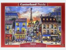 Castorland Puzzle 500 Pieces Streets of Paris 05268 - FREE SHIPPING