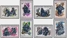 Timbres Animaux Primates Gorilles Rwanda 370/7 ** lot 25812