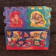 Toy Story 2 Woody's Roundup Foam Puzzle #TS-106 - 12 Puzzle Pieces - 1999