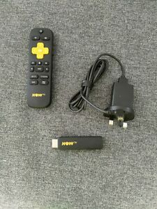 NOW TV 3801UK Smart Stick with HD and Voice Search - Matte Black