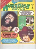 Firpo Wrestling Revue NWA 1974 Ladies Dupre Giants AWA vintage news Magazine WWF