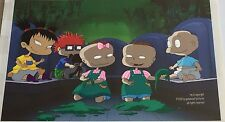 NICKELODEON PRESENTATION cel RUGRATS w/ TOMMY CHUCKY KIMI PHIL LIL