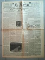 Fac similé Journal - LE MATIN 28 JUIN 1918