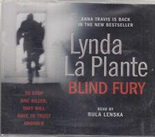 Blind Fury Lynda La Plante 5CD Audio Book Abridged Anna Travis Crime Thriller