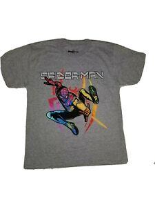 NWOT Marvel Gamerverse Miles Morales Colorful Graphic t-shirt Kids Size L(10-12)
