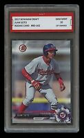 JUAN SOTO 2017 BOWMAN DRAFT #162 (Topps) 1ST GRADED 10 ROOKIE CARD RC NATIONALS