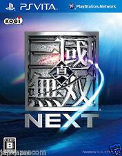 Used PS Vita Shin Sangoku Musou Next SONY PLAYSTATION JAPANESE IMPORT