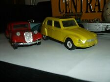 New Listing1939 Citroen Traction Avant and 1970s Cirtoren Dyan Diecast
