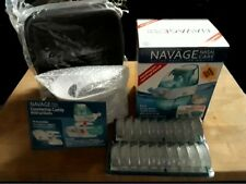 Navage Nasal Irrigation WORKS BUNDLE Nose Cleaner NEW