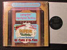1979 Saturday Morning Heroes 3x LP BOX VG+/GD+ Murray Hill 899256 Superman