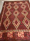 Afghan Kilim Flat Weave Rug 6.7x9.8 Kilim Afghan Mimana Kilim Flat Weave Carpets