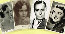Vintage Original ☆ FILM STAR ☆ Postcards from around the World - List B2