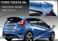 SPOILER REAR ROOF FORD FIESTA MK7 MKVII WING ACCESSORIES