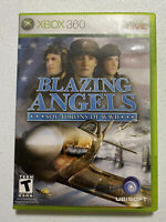 Blazing Angels: Squadrons of WWII (Microsoft Xbox 360, 2006)Complete (Read)