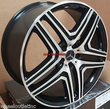 20 Rims Fit Mercedes ML 350 ML 300 AMG RIMS GL350 450 GL550 GLK 5x112 22