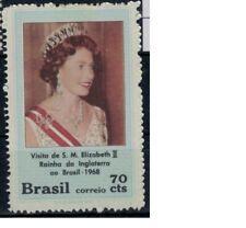 Brazilie mi 1194 (1968) plakker - mh - x no gum