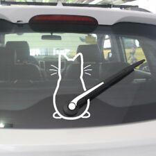 Lovely Animal Cute Kitty Cat Car Windshield Wiper Vinyl Art Mural Sticker Decor