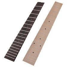 """2pcs different 26"""" Tenor Ukulele Fretboard Fingerboard 18 Frets Rosewood Maple"""